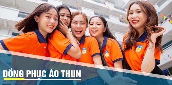 may dong phuc ao thun