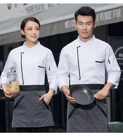 may đồng phục bếp, áo bếp trưởng, tạp dề