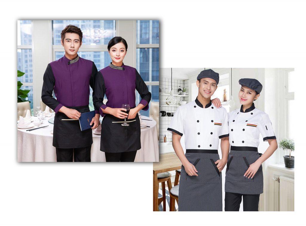 Cận cảnh những sản phẩm đồng phục nhà hàng, quán ăn