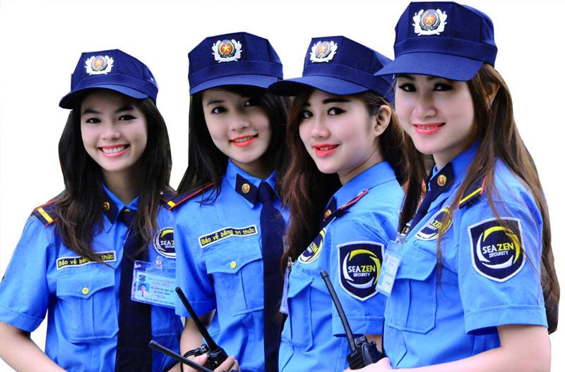 Đồng phục Thành Công may trang phục bảo vệ