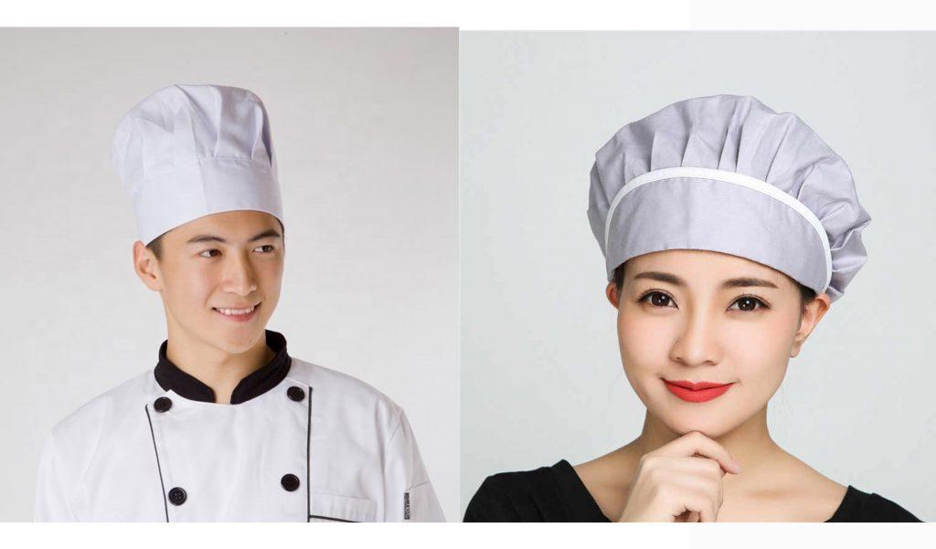 Các loại mũ bếp được đồng phục Thành Công cung cấp vô cùng chất lượng