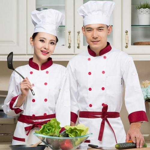 Đồng phục bếp Thành Công đa dạng màu sắc
